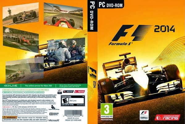 Download F1 PC FullRip 2014 f1 2014 front cover 190447