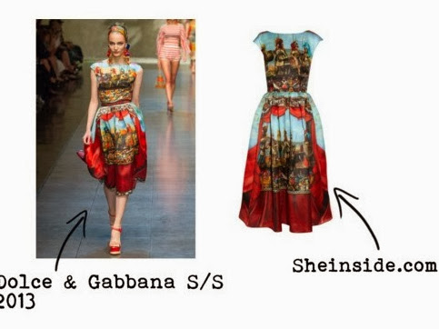 Get The Look : from Dolce & Gabbana S/S 2013