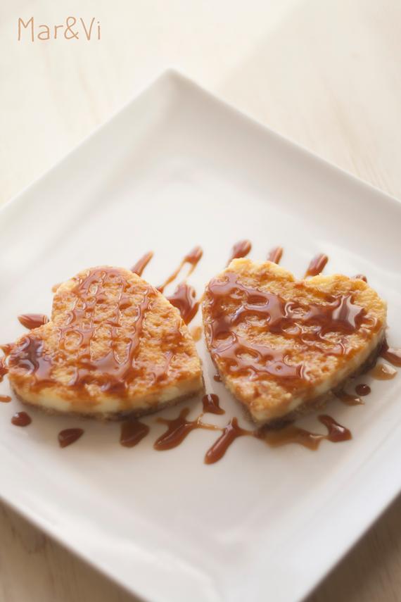 cheesecake especial para el día de los enamorados