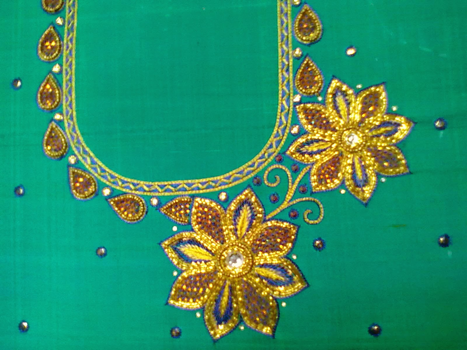 Aari Embroidery School A Blast From The Past