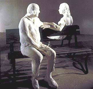 Learning Curve on the Ecliptic: Arty Farty Friday ~ George Segal, Artist and Sculptor - tuotuofly - 墨·色