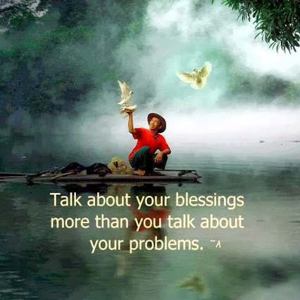 We all have LOTS of BLESSINGS.