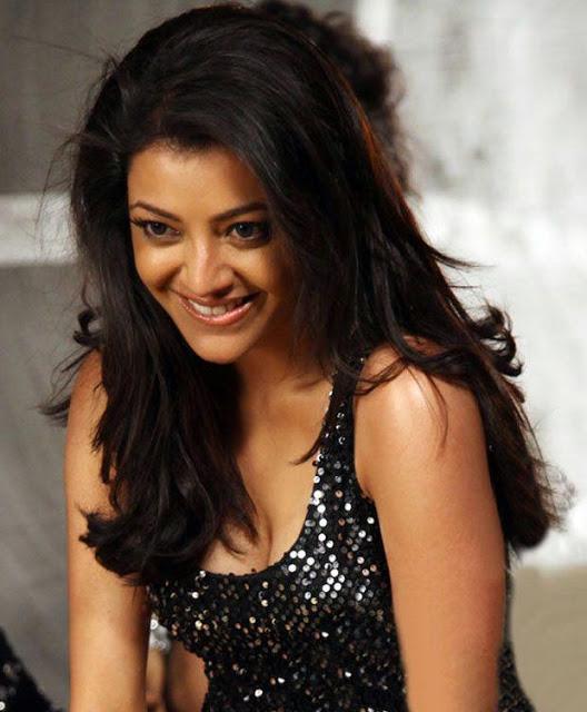 Kajal Agarwal stills in black dress Kajal_Agarwal+gorgeous+stills+(1)