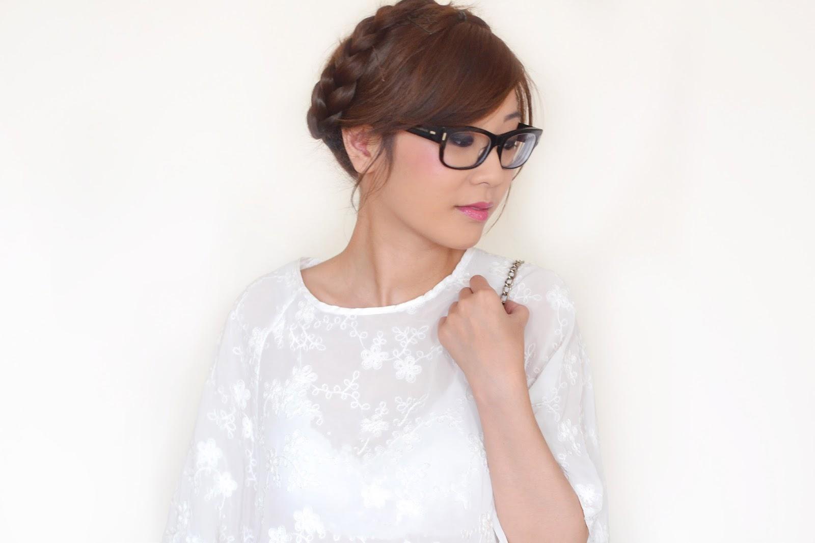 milkmaid plaits, uk fashion blogger