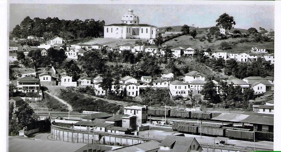 Vista panoramica Barbacena, Igreja São José, Alto da Fábrica