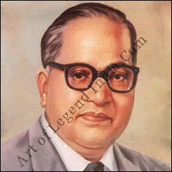 "Dr. B.R. Ambedkar ""Father of Indian Constitution"""