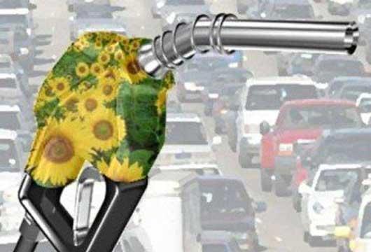 La gasolina con la añadidura del gas