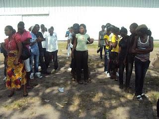 La division de la jeunesse de Kinshasa à Luna Parc
