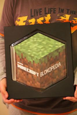 Minecraft Blokopedia - idealny prezent dla fanów