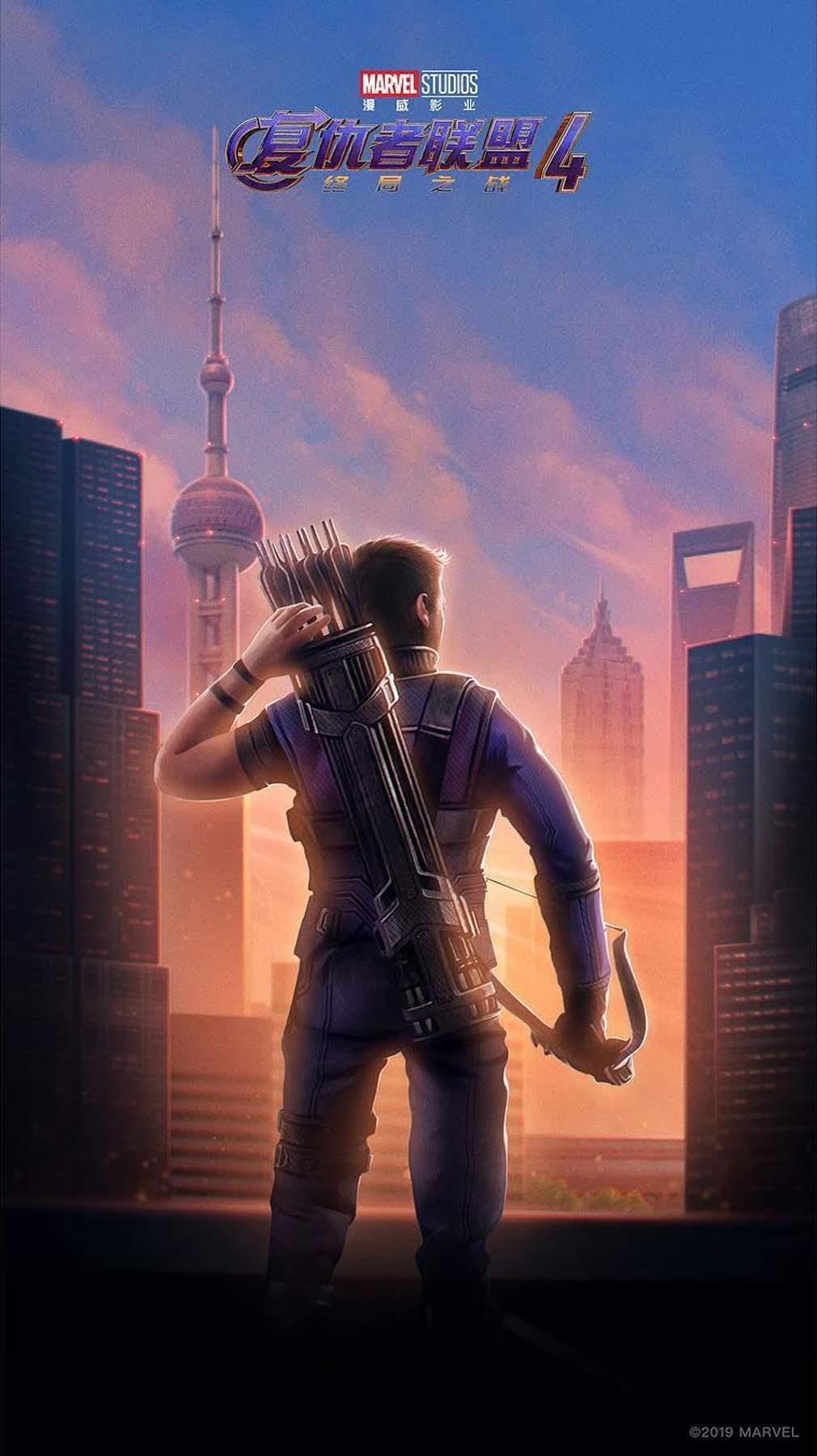 アベンジャーズエンドゲーム ポスター 中国