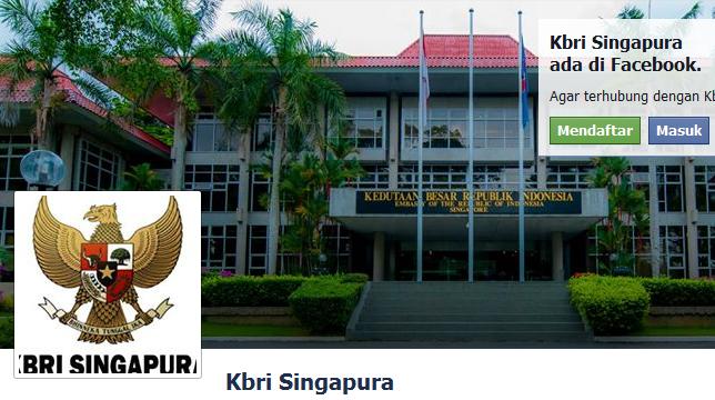 Cara Ke KBRI Singapura