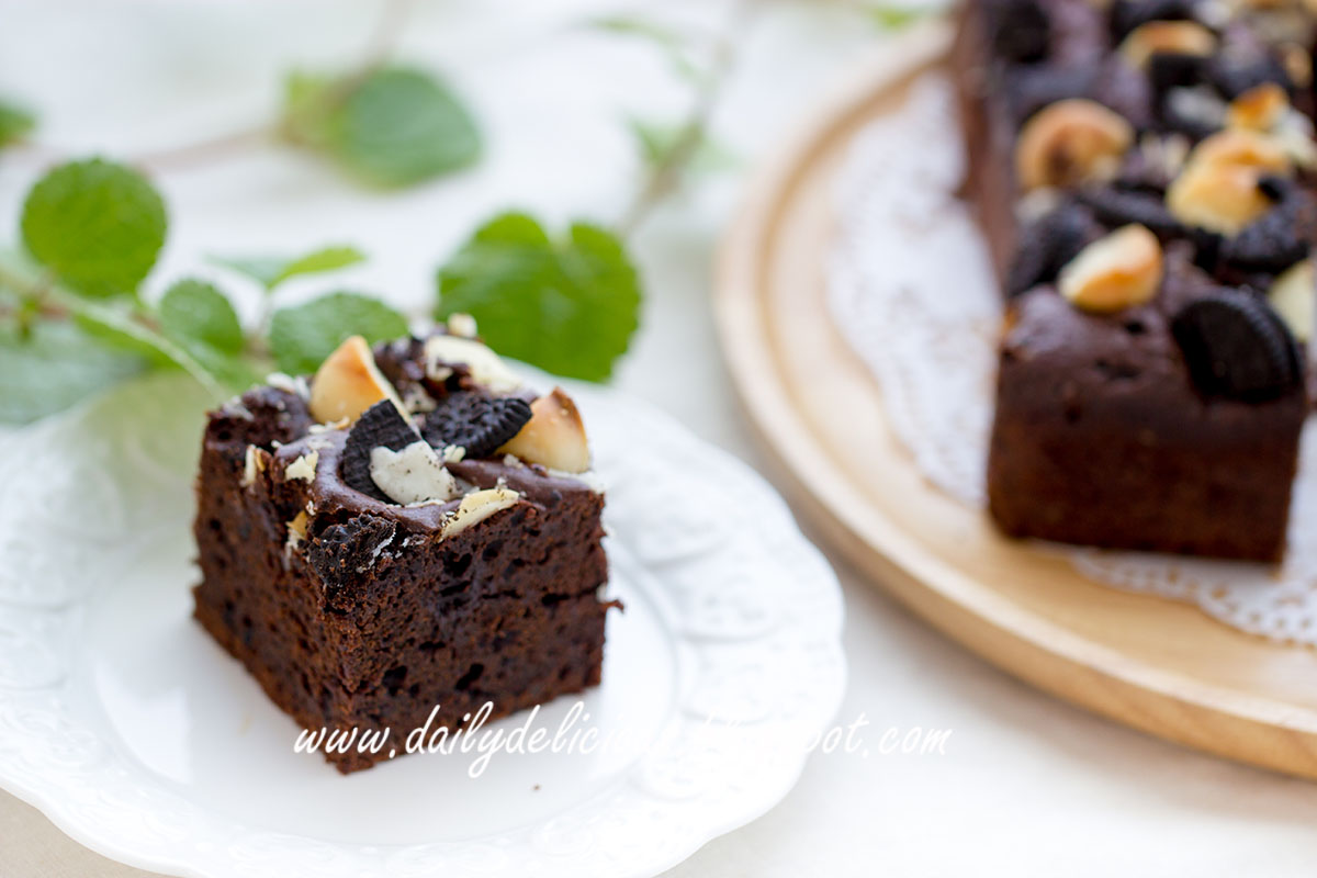 Make Chocolate Brownie Cheesecake