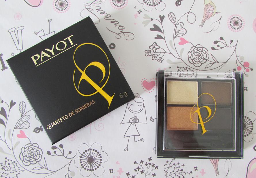 Quarteto de Sombras, maquiagem, Irradiet, Payot