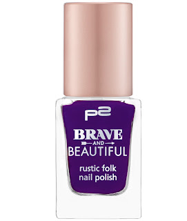 Preview: p2 Limited Edition: Brave and Beautiful - rustic folk nail polish - www.annitschkasblog.de