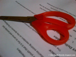 Orange Scissors
