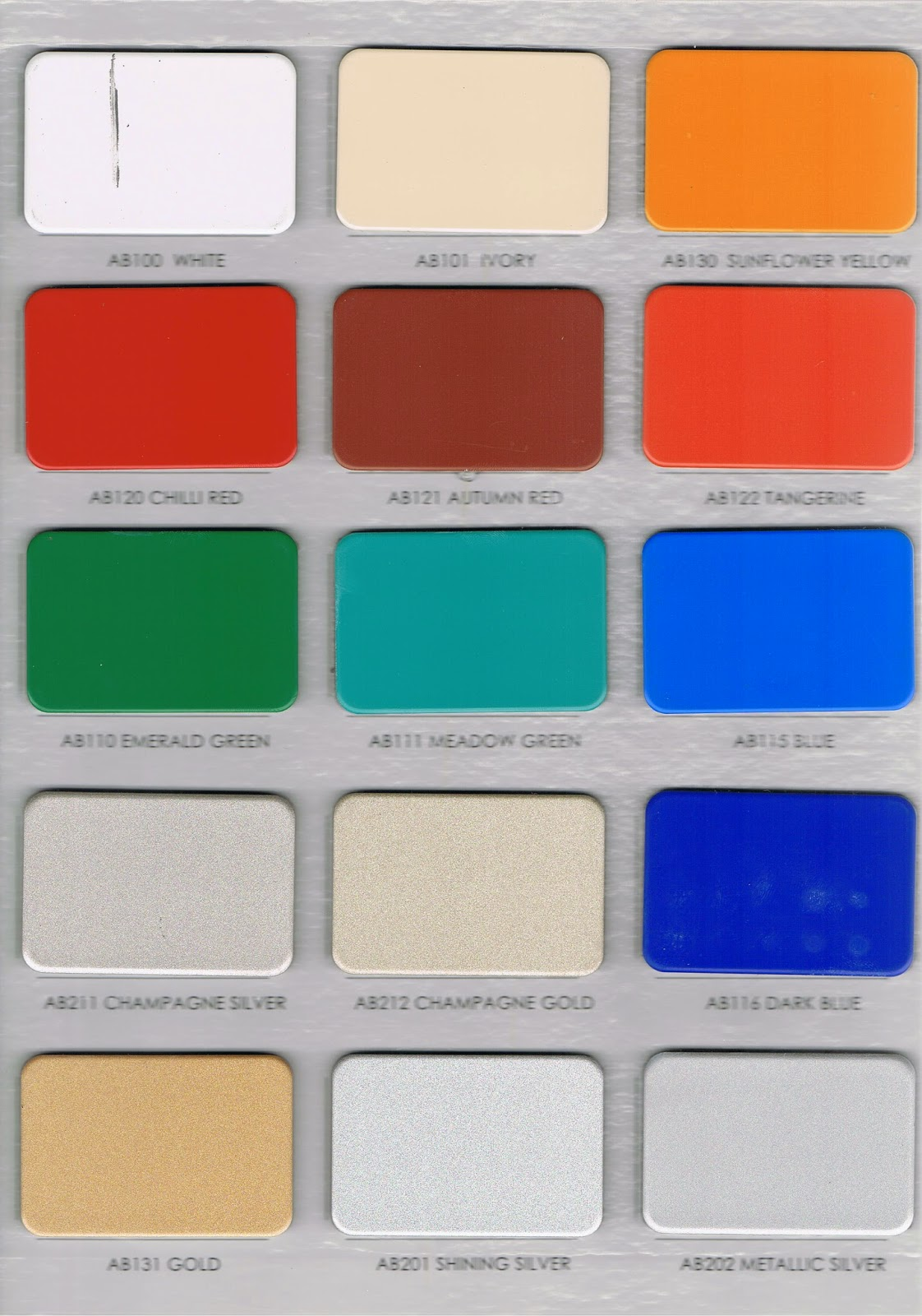 WARNA ALUMINIUM COMPOSITE PANEL ACP ALUMEBOND