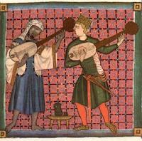 Juglares en las Cantigas de Alfonso X el Sabio.