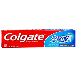 Colgate, Colgate toothpaste, Colgate Cavity Protection Toothpaste, blemish remover, pimple remover, spot treatment