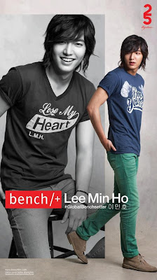 Lee Min Ho ad campaign for Bench
