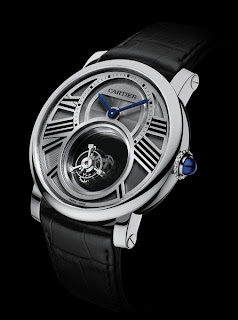 cartier Montre Rotonde Double Mystery Tourbillon