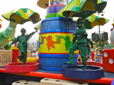 Toy Story Green Army Men Carriage at Hong Kong Disneyland