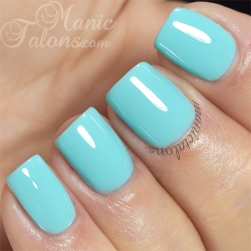 Pink Gellac Gipsy Blue Swatch