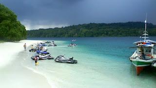 Jet Sky Tanjung Lesung