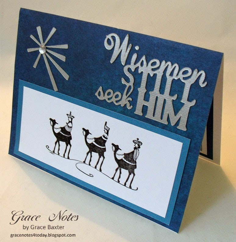 Wisemen Christmas card front