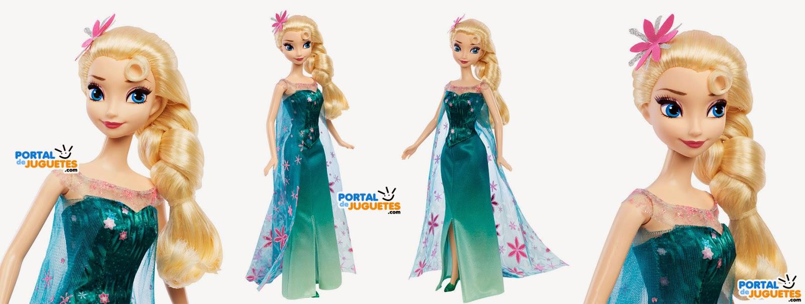 muñeca elsa frozen fever mattel