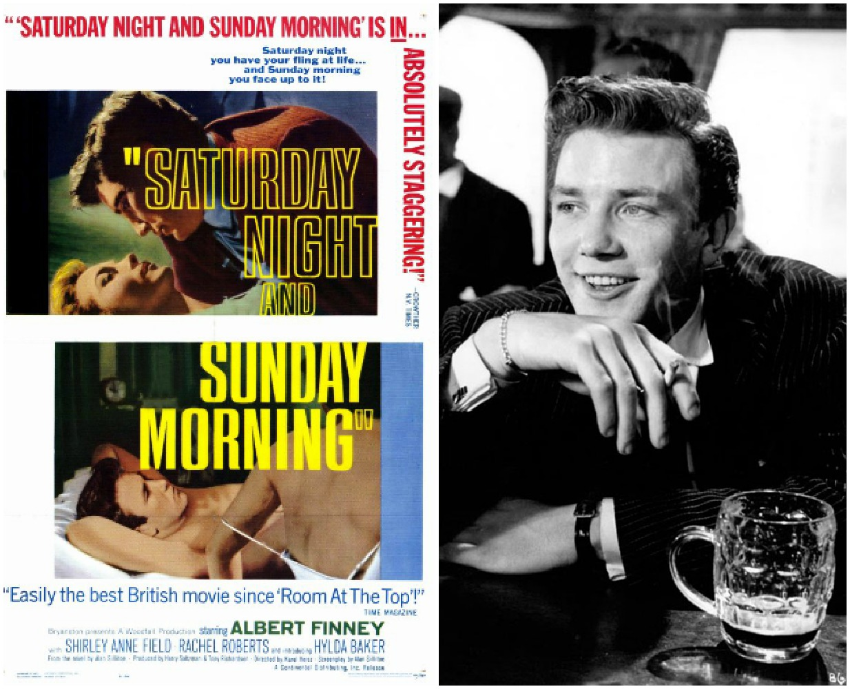 saturday night and sunday morning by allan Saturday night and sunday morning is a classic social realist film of the british new wave made in 1960, it was groundbreaking in both its portrayal of the industrial nightmare of working class factory life, and its unrepentant, cocky anti-hero arthur seaton.