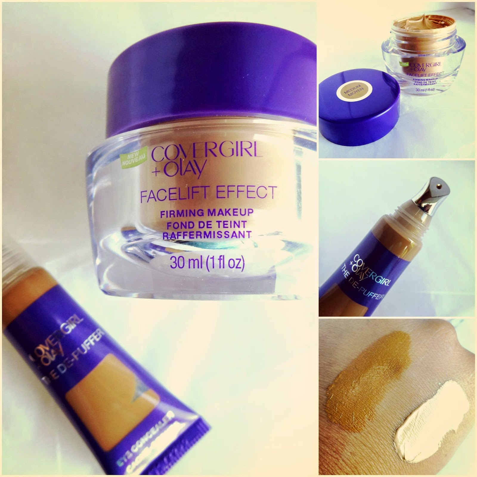 Covergirl+Olay Facelift Firming Makeup & Covergirl +Olay The De- Puffer