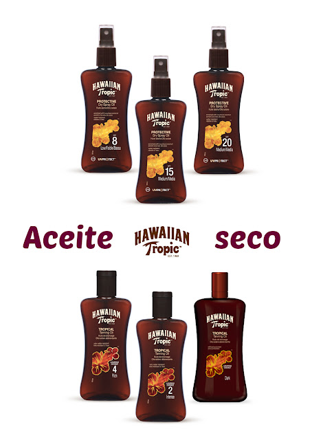 Aceites Hawaiian Tropic