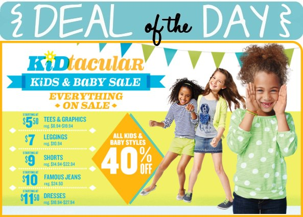 Deal of the Day: Old Navy Kids & Baby Sale (Extended!) — A Modern Mrs.