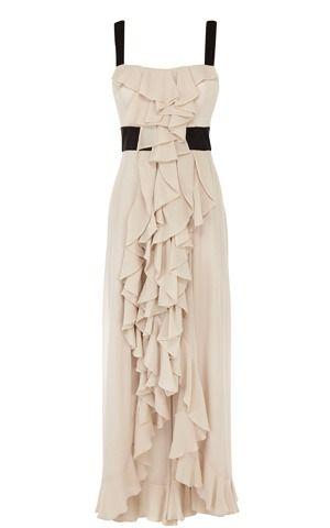 Stylish Ruffled Maxi Dress