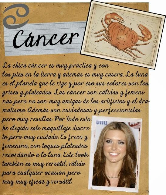 Maquillarse segun tu signo zodiacal, Cancer