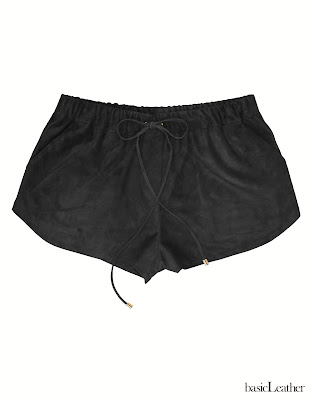 basicLeather, short cuero, short ante, leather short, suede short, short runner