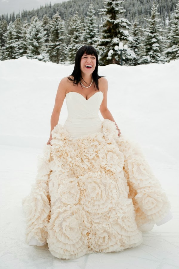 DressyBridal: Colored,Dramatic and Unusual Ball Gown Wedding Dresses