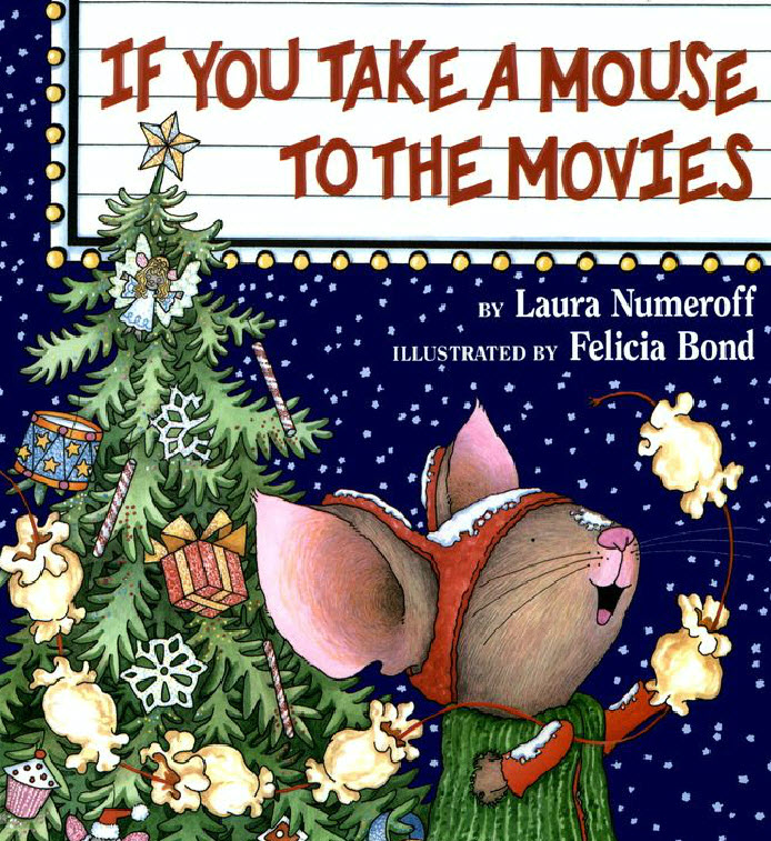 following on from if you give a mouse a cookie it is now christmas time the young boy and his mouse take a snowy walk down the the movies