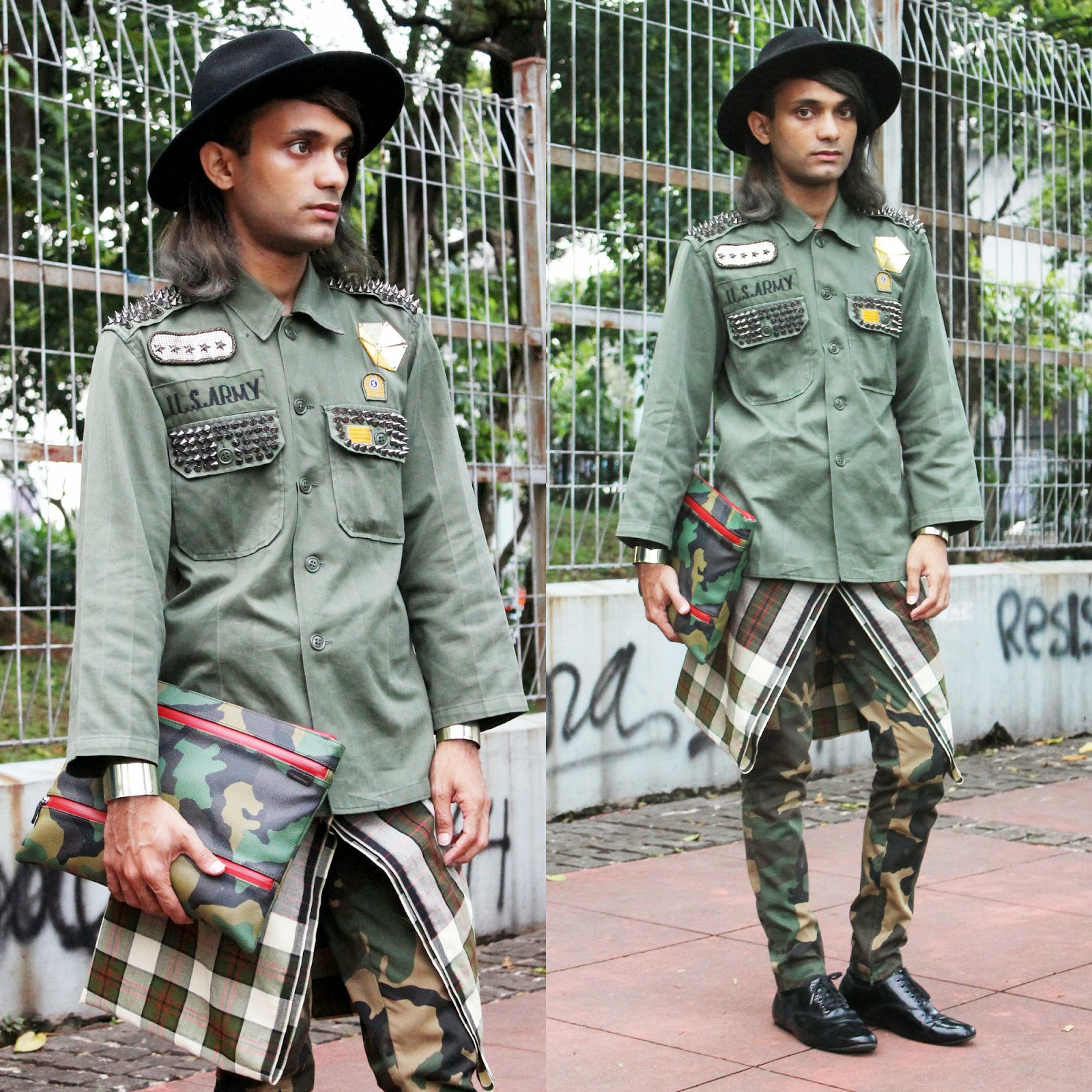 Mr Rebel In Town Us Army Indonesia Fashion Week 2015 Outfit Day 3