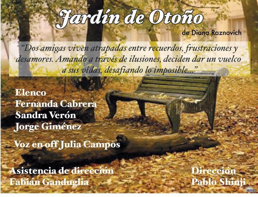 """Jardín de otoño"" de Diana Raznovich"