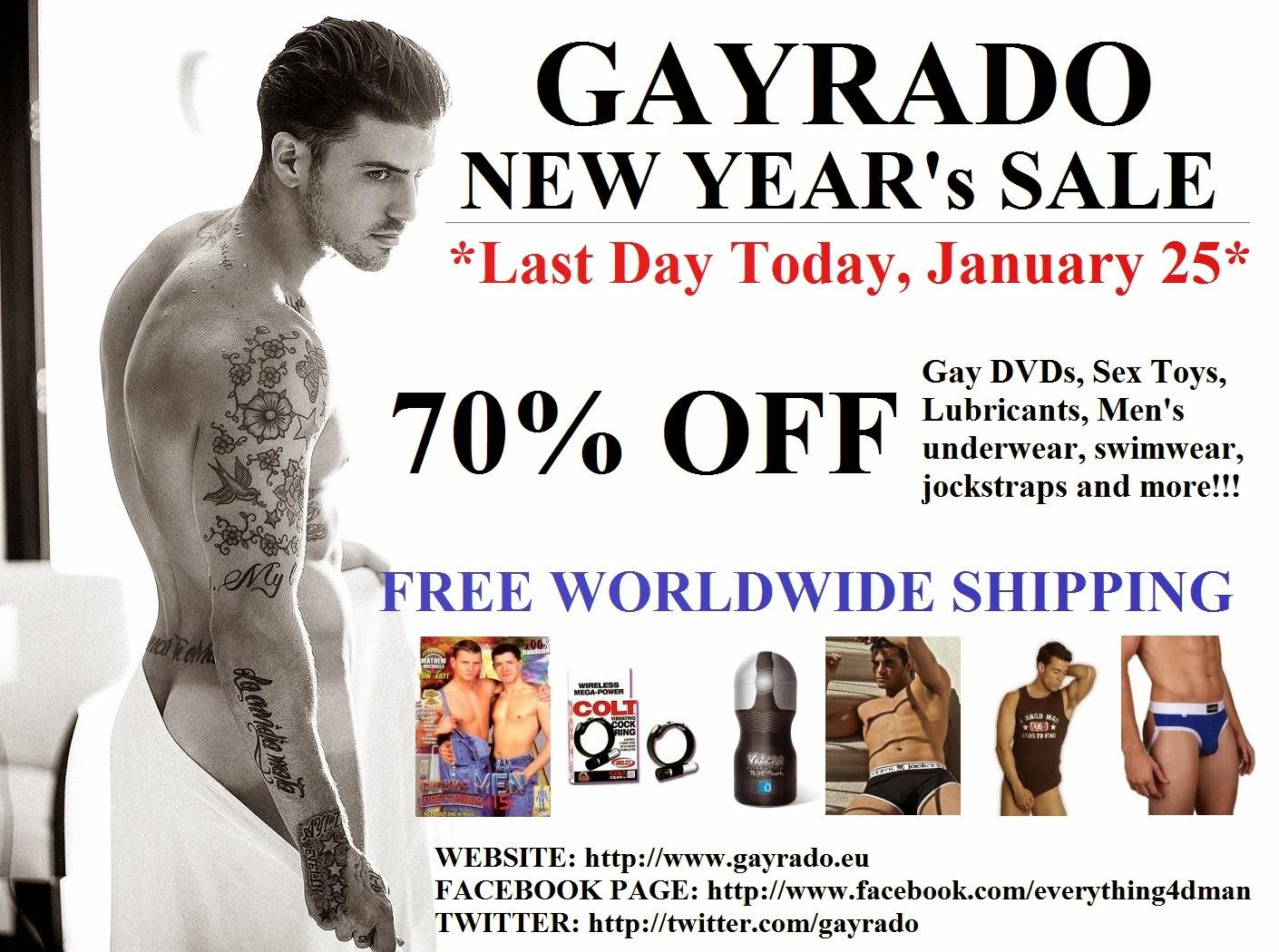 Gayrado Online Shop New Years Sale Last Day