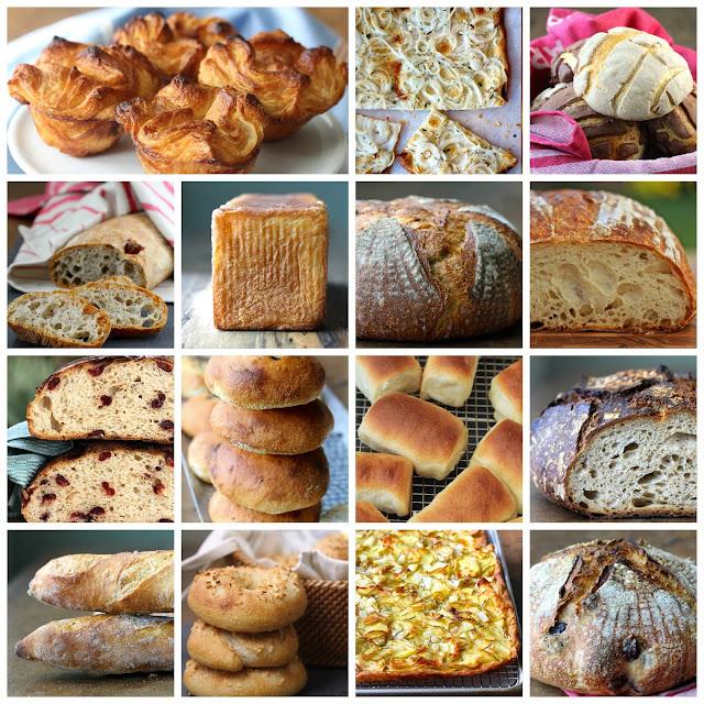 Fifteen Favorite Breads from 2015 from Karen's Kitchen Stories