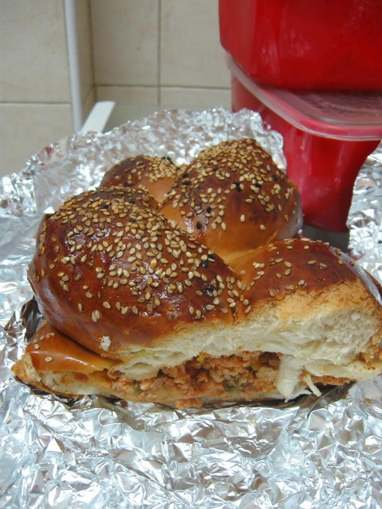 stuffed challah