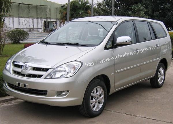 Cho thuê xe Innova dài hạn