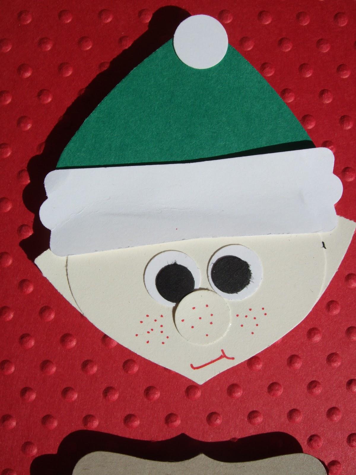 Elf On A Shelf Card