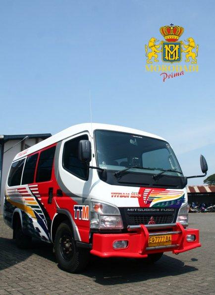 Shuttle Van by PT. Morodadi Prima