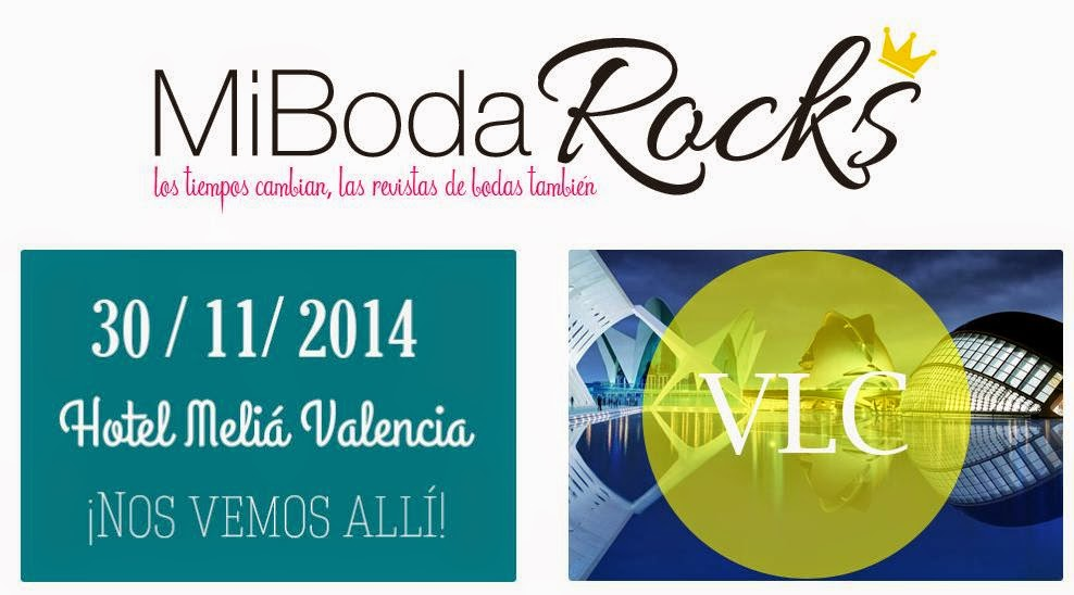 Mi Boda Rocks Experience Valencia 30 noviembre 2014 evento showroom nupcial bodas