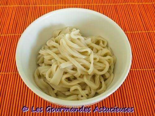 Ma recette de nouilles Udon faites-maison
