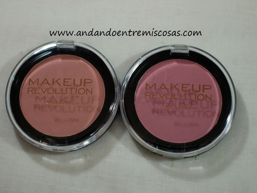 Coloretes Makeup Revolution