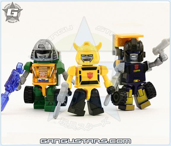 MiniBots Huffer Brawn Bumblebee Kre-O Transformers トランスフォーマー Kre O Kreons
